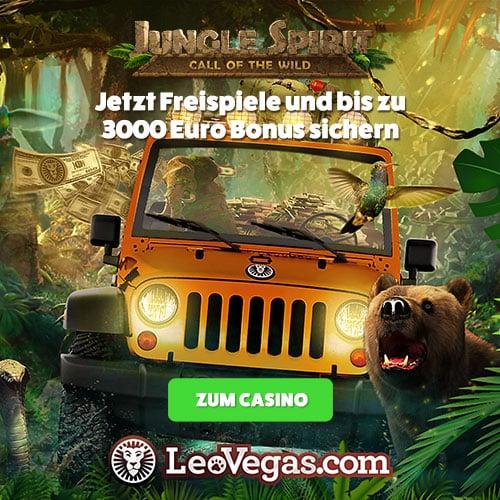 Große Gewinne und Abenteuer warten im Leo Vegas Casino auf dich