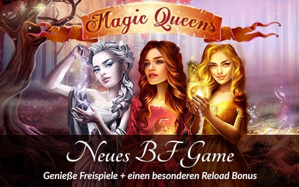 Lvbet casino magic queens dreams