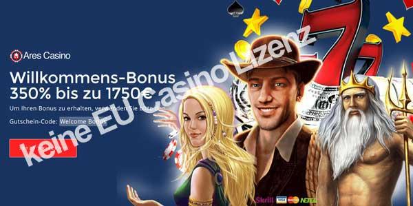 Unseriöses Novoline online Casino Aries