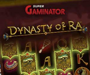 Supergaminator Casino mit Spiel Dynasty of Ra