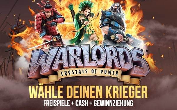 lvbet casino aktion warlords crystals of power