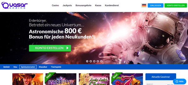 Novoline online im Quasar Casino spielen