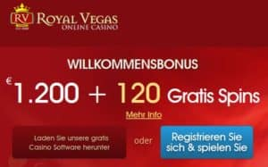 Sonderaktionen und Gewinne im Royal Vegas Casino