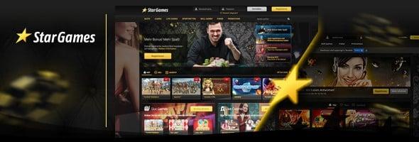 Stargames Casino News - neues Design und neue Spiele
