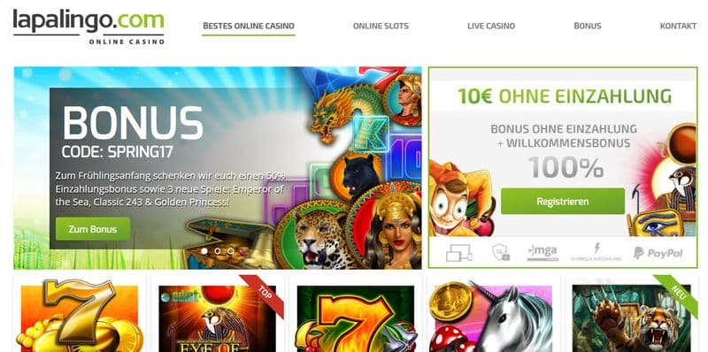 Banner Lapalingo Casino