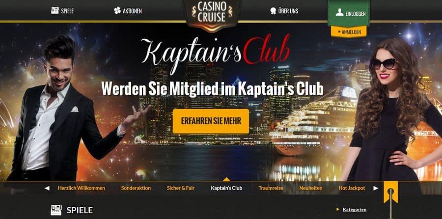VIP Servie und High Roller im Casino Cruise