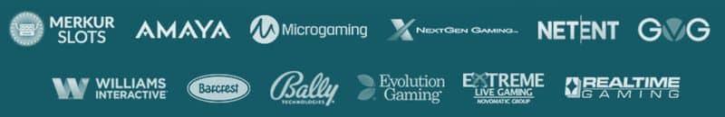 Casino Spieleanbieter im Drück Glück Casino