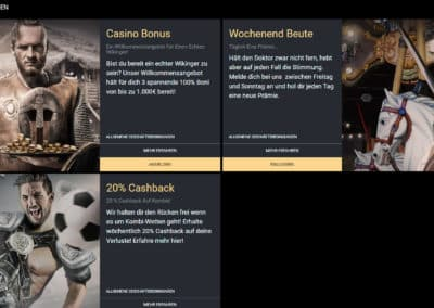 Viks Casino Werbeaktionen