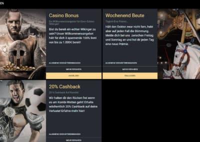 Viks Casino Werbeaktionen