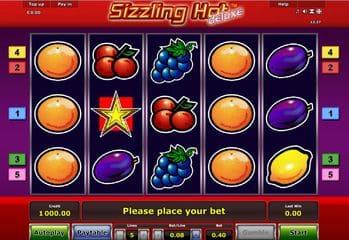 Novoline Spiel Sizzling hot