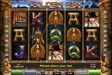 Novoline Spiel golden Ark
