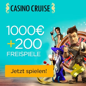Casino Cruise Banner Startangebot