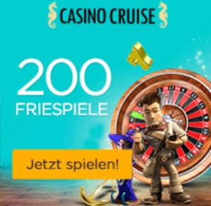 Casino cruise 200 freispiele Startangebot