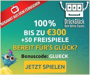 Drück Glück online casino aus TV Banner Startseite Casino mit Bonus