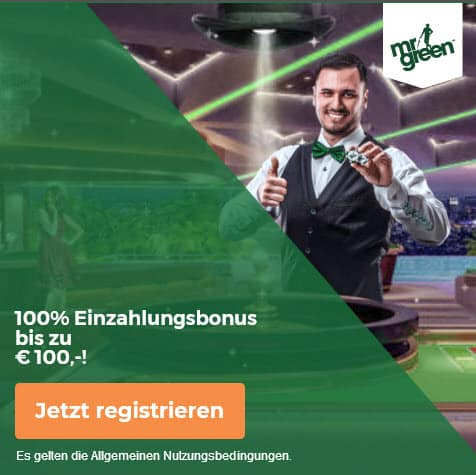 Mr Green online casino banner start mit bonus live 100