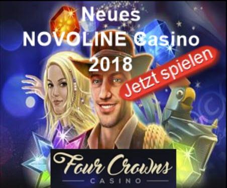 novoline casino 4crowns logo und banner