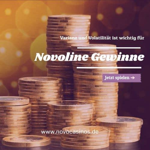 Varianz und Volatilität bei Novoline online Spielen 500
