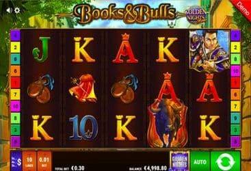 Books and Bulls_1 BallyWullf Casino Spiel 063
