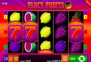 Fancy Fruits BallyWullf Casino Spiel 053