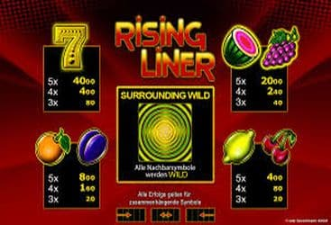 Merkur Casino Spiel 003 rising liner