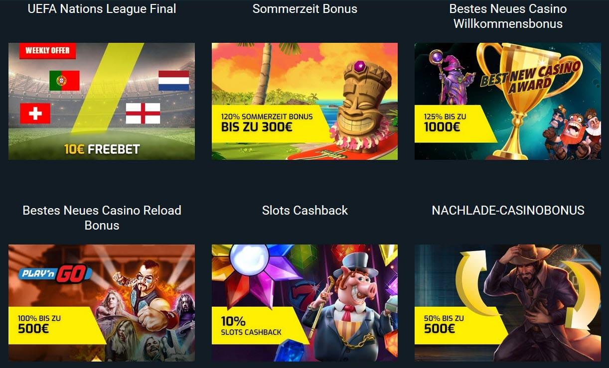 Campeonbet Casino Bonusangebote Auswahl