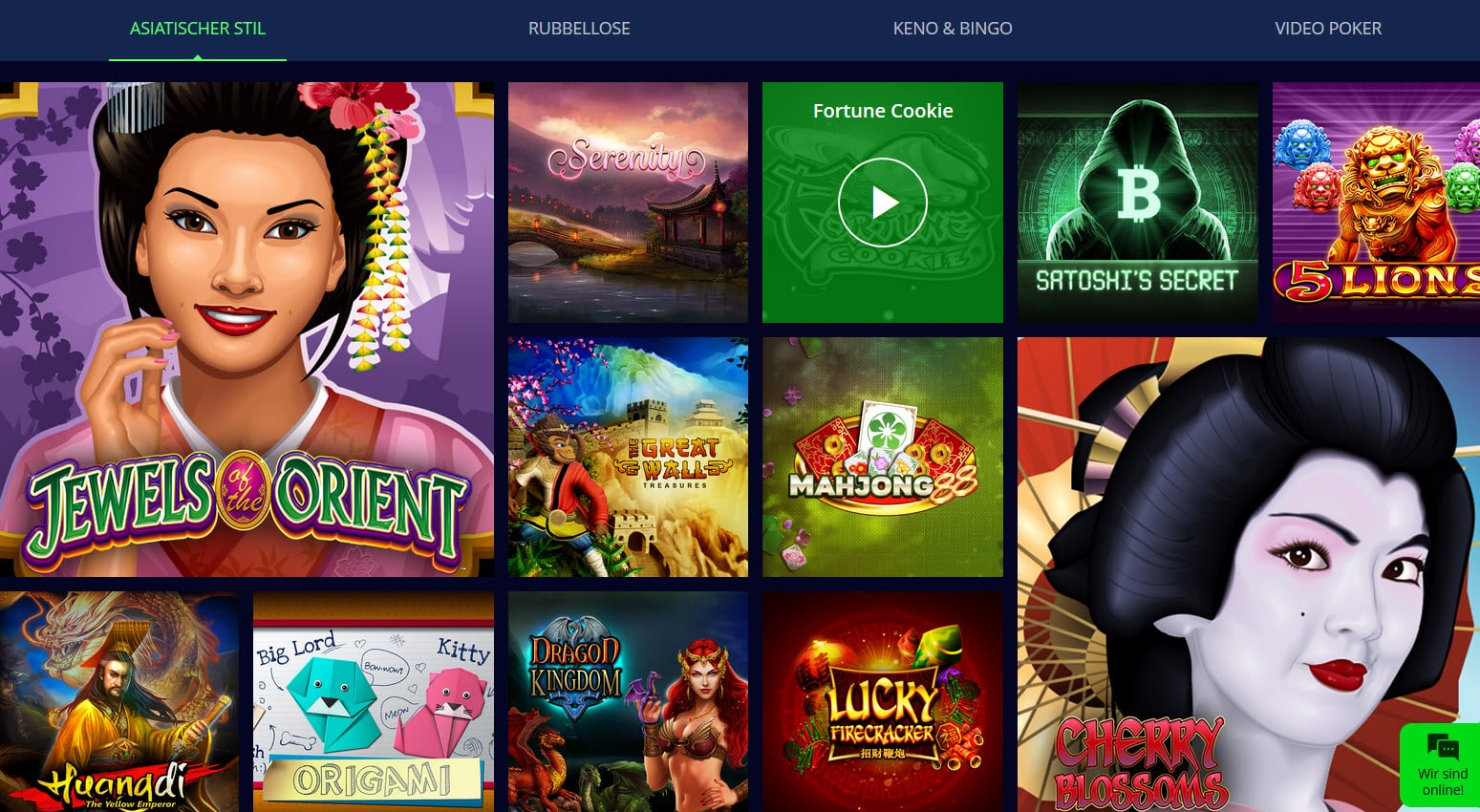 Sportempire Casino Startseiten und Bonus Spiele